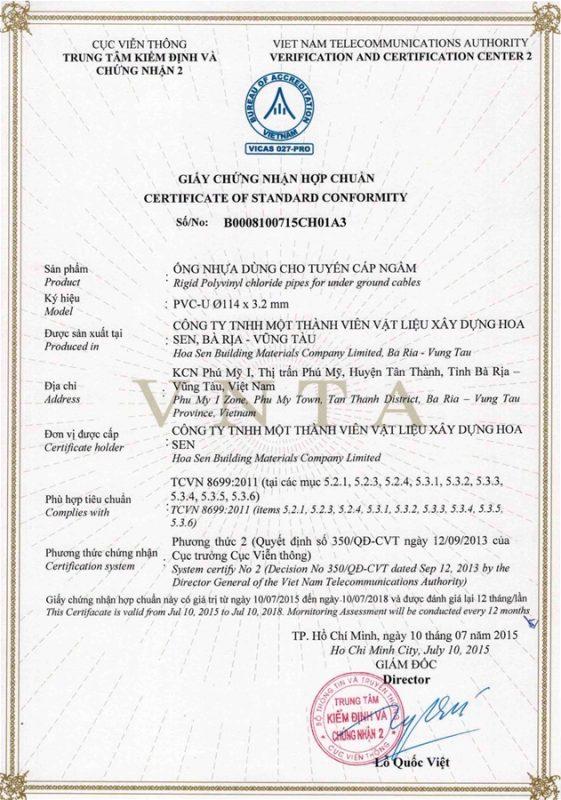Giay Chung Nhan Hop Chuan Ong Nhua Tcvn8699 Vlxd Phu My 3