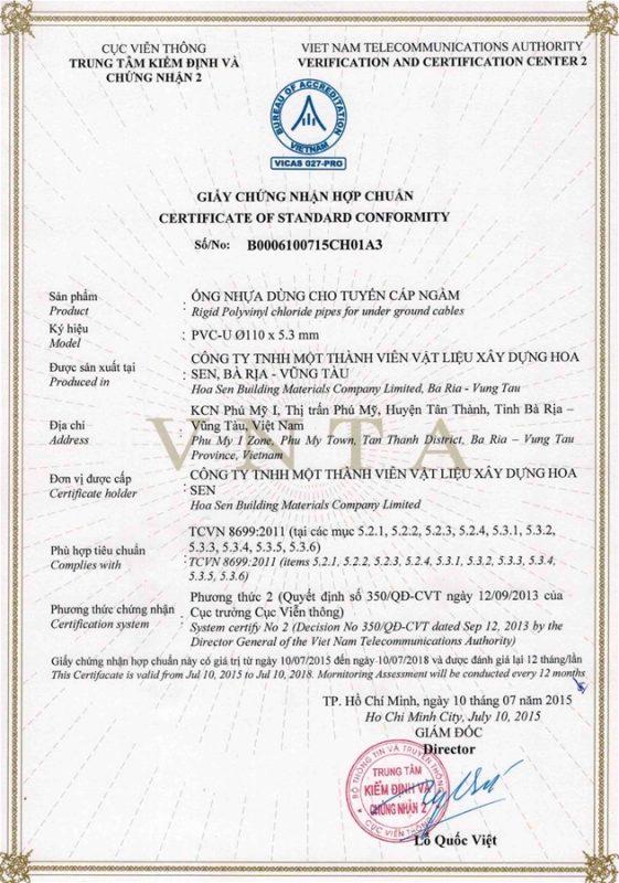 Giay Chung Nhan Hop Chuan Ong Nhua Tcvn8699 Vlxd Phu My 5
