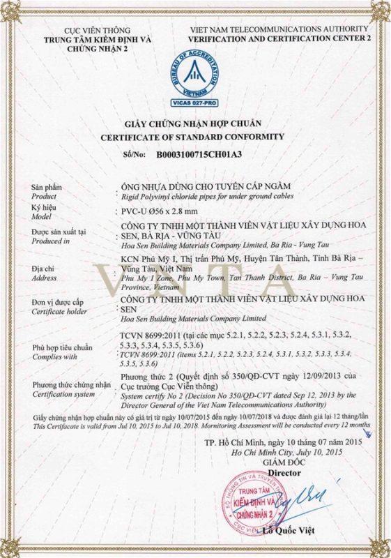 Giay Chung Nhan Hop Chuan Ong Nhua Tcvn8699 Vlxd Phu My 8