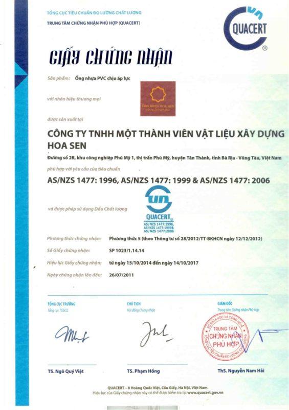 Giay Chung Nhan Hop Chuan Ong Nhua Theo Tieu Chuan Quoc Te Vlxd Phu My 3