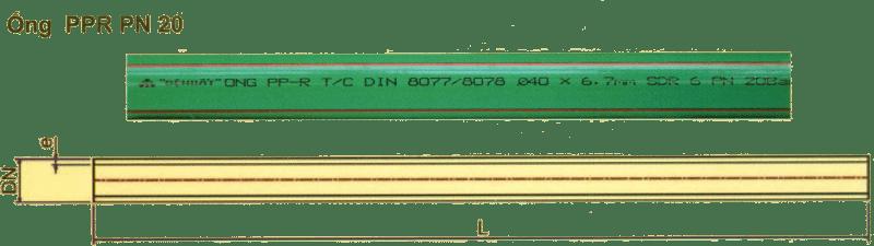 Ống HPDE - Tiêu chuẩn ISO 4427 (Sao chép)