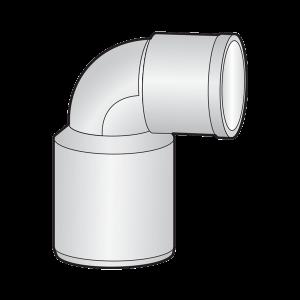 Cút thu 90  (91.5) một đầu nối trong