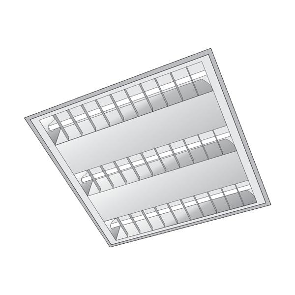 Máng đèn tán quang dùng bóng T5A - 605