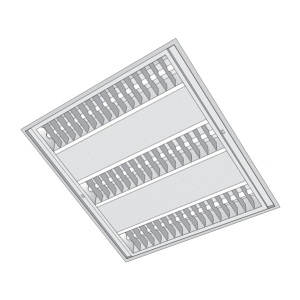 Máng đèn tán quang có lỗ thoát khí