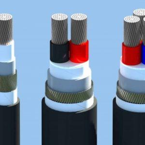 AXV/DATA − 0,6/1 kV & AXV/DSTA − 0,6/1 kV CÁP ĐIỆN LỰC, RUỘT NHÔM, CÁCH ĐIỆN XLPE, GIÁP BĂNG KIM LOẠI, VỎ PVC (Sao chép)